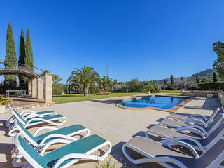 Elegant country house with ETV rental license and views of Pollensa bay