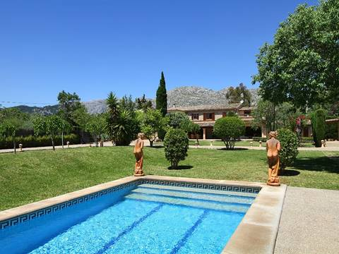 POL5289RM Splendid country property in tranquil location between Pollensa town and Puerto Pollensa