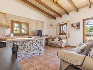 Cute country home with natural stone fassade and holiday rental license near Pollensa