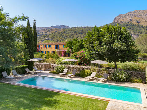 POL5468ETV Organic farm with vineyard potential situated in an exclusive valley close to Pollensa