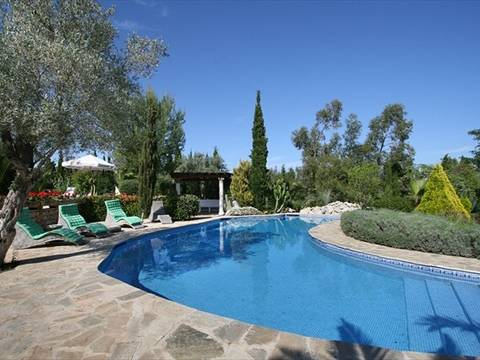 POL5604 Superb finca with guest cottage, pool and a large garden near the Pollença golf course