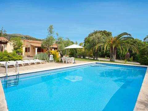 POL5710NEW Charming country house with spectacular views in Pollensa, Mallorca