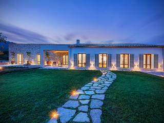 Newly built luxury finca of contemporary design in the country side near Pollensa