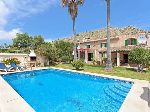 POL5889 Charming stone-faced country house for sale between Pollensa town and Puerto Pollensa