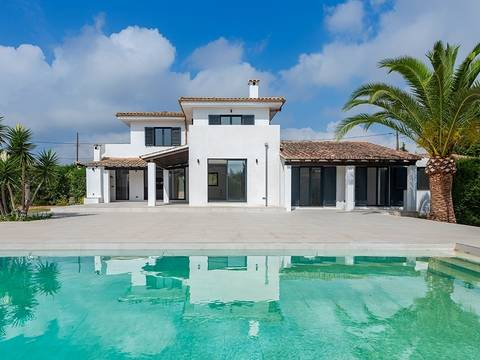 POL5929PTP4ETV Elegant country villa with guest house, rental license and sea views near Pollensa bay
