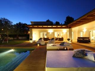 Modern eco friendly villa with swimming pool in northern Mallorca