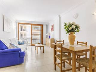 Sea view apartment, walking distance from the sandy beaches of Puerto Alcudia
