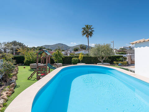PTA40605 Single storey villa with private pool in Puerto Alcudia