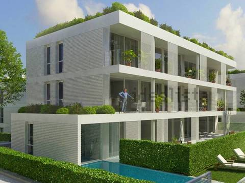 PTP0362 Building plot for sale with renewable license for 12 apartments in Puerto Pollensa