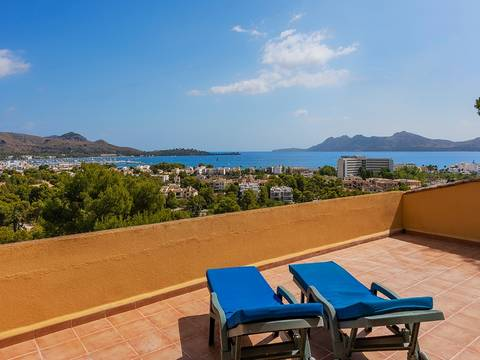 PTP0462 Sea view plot of 1,349 m2 in Gotmar, Puerto Pollensa