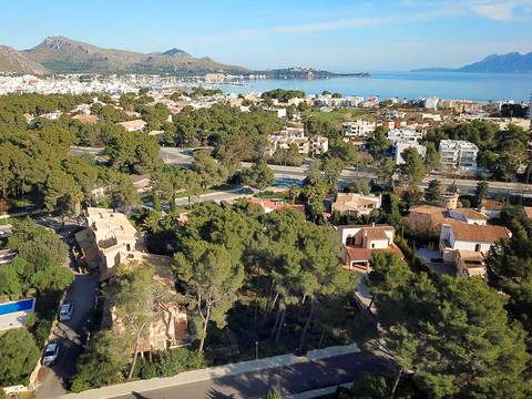 PTP0477 Building plot in an exclusive residential area in Puerto Pollensa