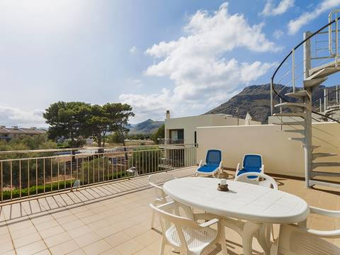 PTP11289 Nice duplex apartment for sale in walking distance to the sea, Puerto Pollensa