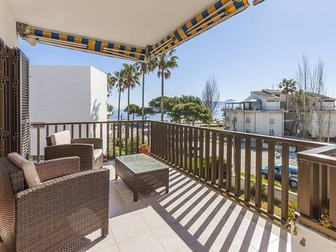 PTP11298 Lovely Penthouse apartment with huge roof terrace and shared pool in Puerto Pollensa