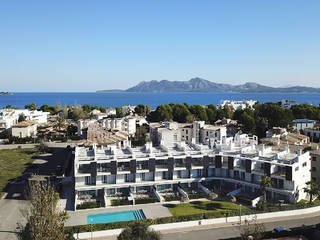 Modern apartments in a residential complex a few meters away from the beach, Puerto Pollensa