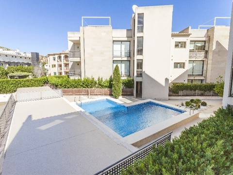 PTP11578 2 bedroom apartment with communal lift and pool near the beach in Puerto Pollensa