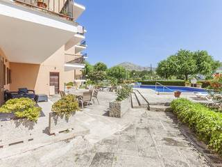Ground floor apartment with holiday rental license close to the beach in Puerto Pollensa