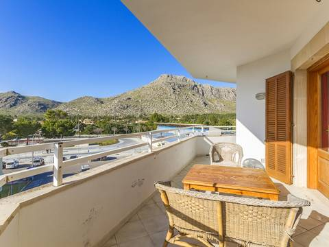 PTP11660 Apartment with terrace close to the beach and Pinewalk in Puerto Pollensa
