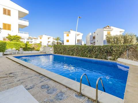 PTP11676 Two bedroom apartment with communal pool, close to the beach in Puerto Pollensa