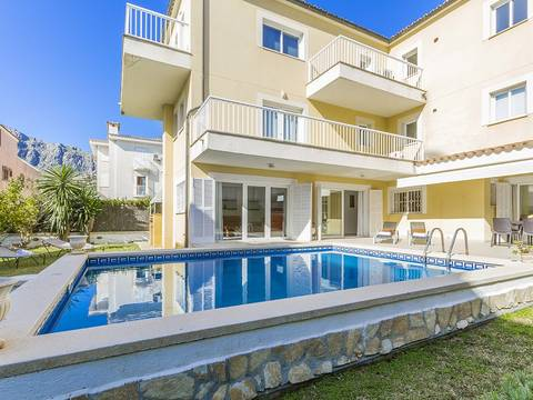 PTP11683 Wonderful apartment with private pool close to the Pine Walk in Puerto Pollensa