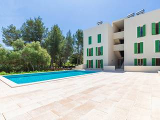 Modern apartment in a development with community pool being built in Puerto Pollensa