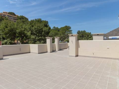 PTP11698RM Mallorca new development under construction, with community pool in Puerto Pollensa