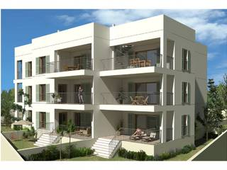 Modern apartment, under construction, with community pool in Puerto Pollensa