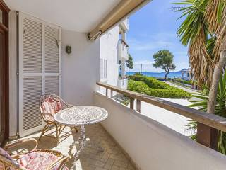 Two bedroom first floor apartment on the sea front in Puerto Pollensa