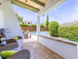Well-presented ground floor apartment with garden in Puerto Pollensa