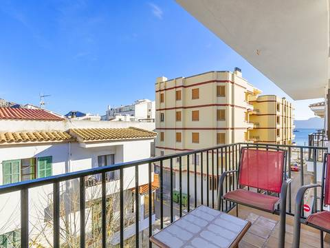 PTP11734 Duplex apartment with sea views just 50m from the beach in Puerto Pollensa