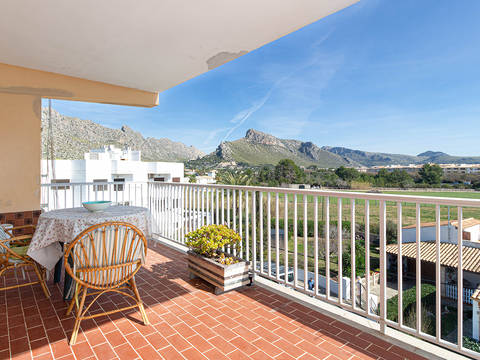 PTP11825 Charming 3 bedroom apartment with covered terrace in Puerto Pollensa