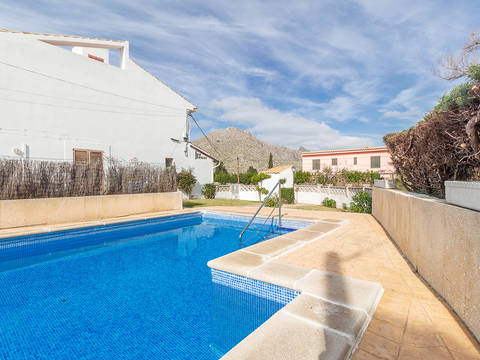 PTP20388 Townhouse within walking distance of the beach in Puerto Pollensa