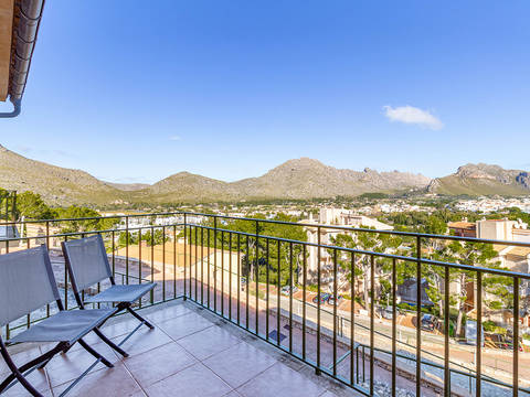 PTP2721PTP4 Semi-detached villa with panoramic sea views over Puerto Pollensa