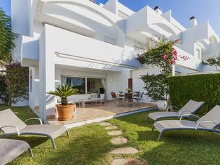 Modern house for sale with lovely outside spaces in Puerto Pollensa