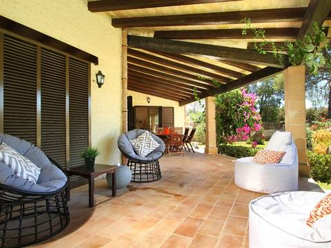 PTP40314 Superbly appointed villa with pool in easy walking distance to Puerto Pollensa's town centre