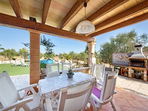 PTP40370 Three bedroom villa with mini-football pitch and beautiful views in Puerto Pollensa