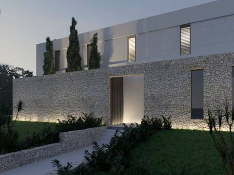 PTP40448POL Outstanding luxury villa with heated pool to be built in an exclusive area of Puerto Pollensa