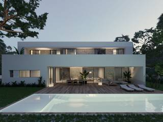 Outstanding luxury villa with heated pool to be built in an exclusive area of Puerto Pollensa