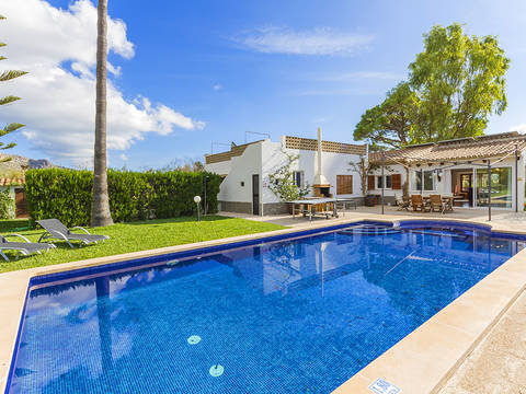 PTP40584ETV Charming villa with holiday licence in Puerto Pollensa