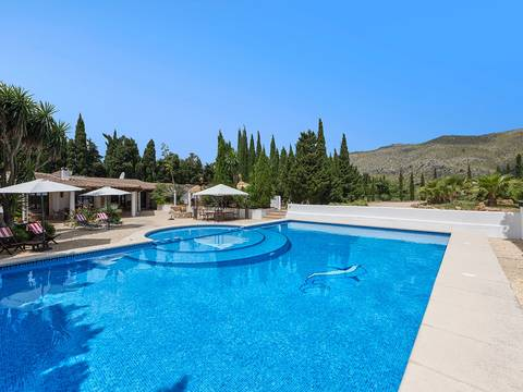 PTP52475 Renovated country finca with holiday rental licence in Puerto Pollensa