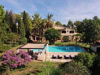 Beautiful finca in Puerto de Pollensa with high quality standards and large pool