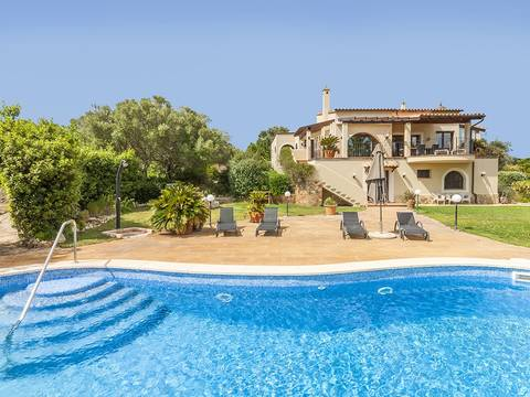 SAM52408SAM4 Stately, modern villa with views to the bay of Palma in the urbanisation Puntíro