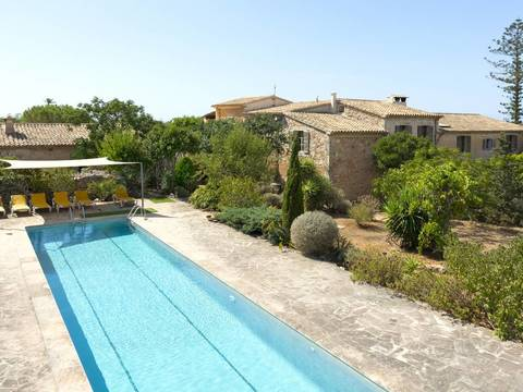 SAN5830 Superb finca for sale in Santanyí with sea views in the distance