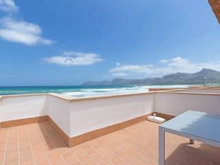 Seafront villa with holiday rental license in Son Serra de Marina