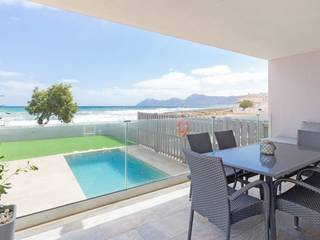 Seafront villa with holiday rental license and amazing views in Son Serra de Marina