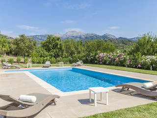 Charming country house with pool and mountain views near the delightful village Selva