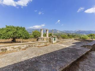 Impressive, stone finca with wonderful views in a very private location near Selva