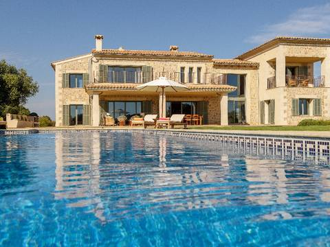 SES52413 Impressive villa with pool and beautiful garden in Ses Salines