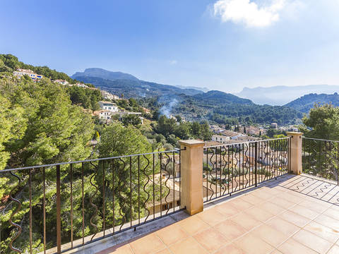 SOL20373 Spacious house with numerous terraces and a private pool in Sóller