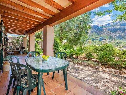 SOL40441SOL5 Four bedroom villa with wonderful mountain views in Soller