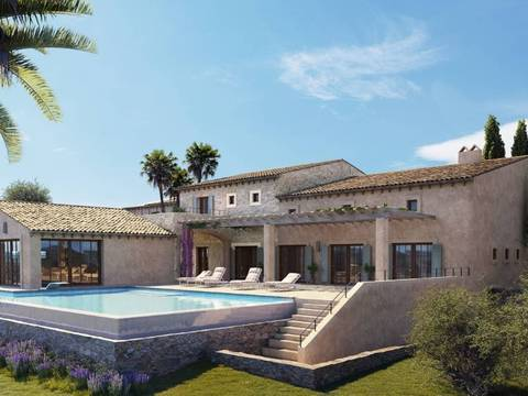 STM50089 Luxury country house under construction near beautiful village Santa Maria